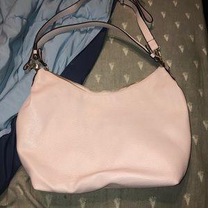 Light pink women's purse